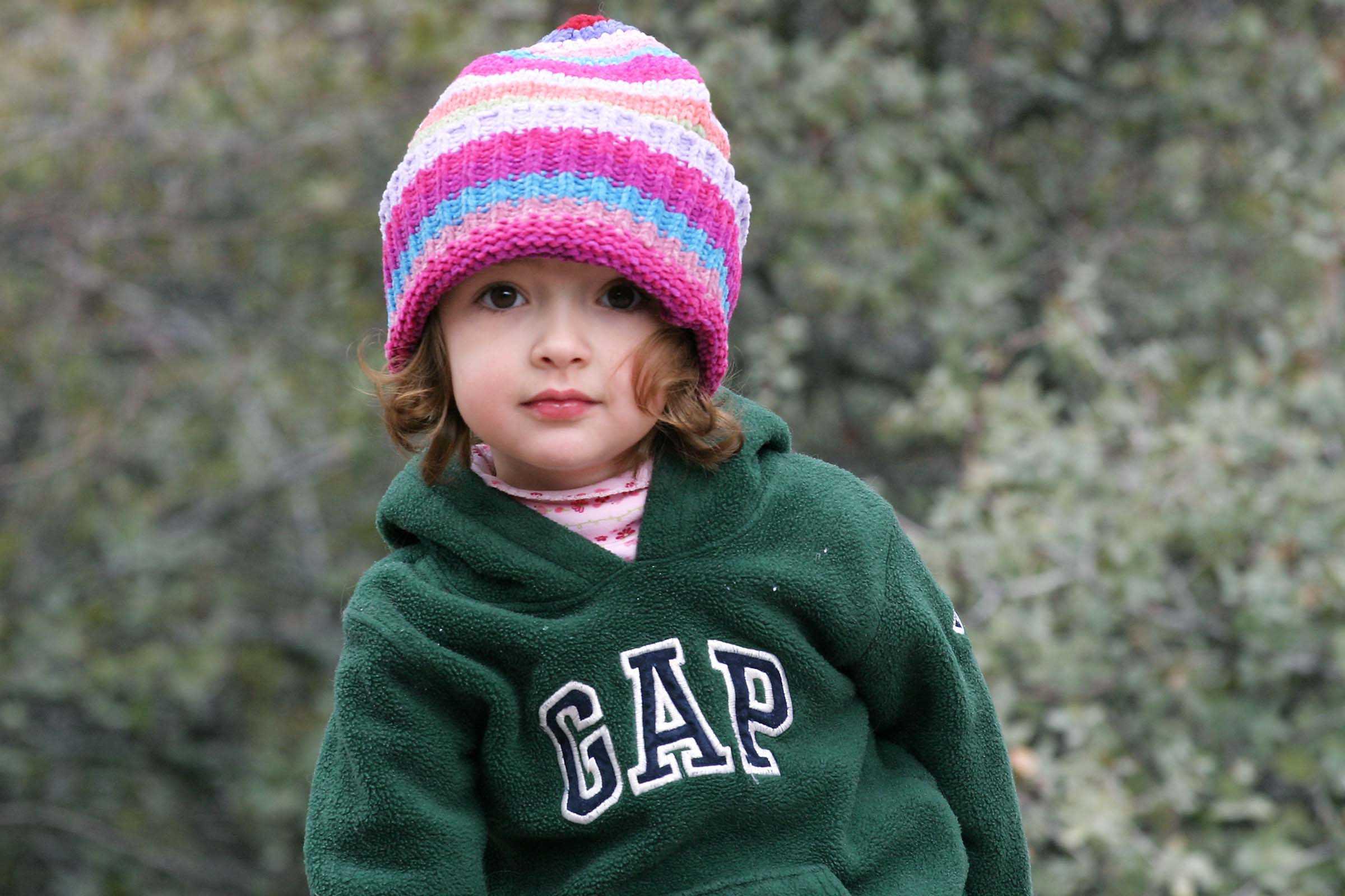 Fashionable Toddler
