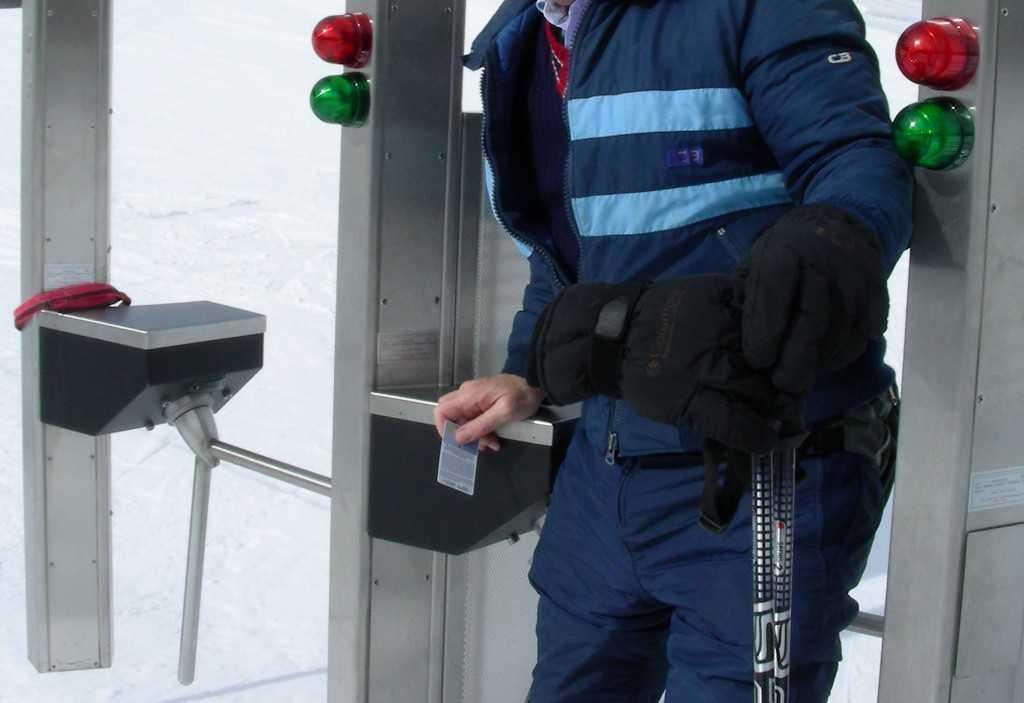 RFID Lift ticket