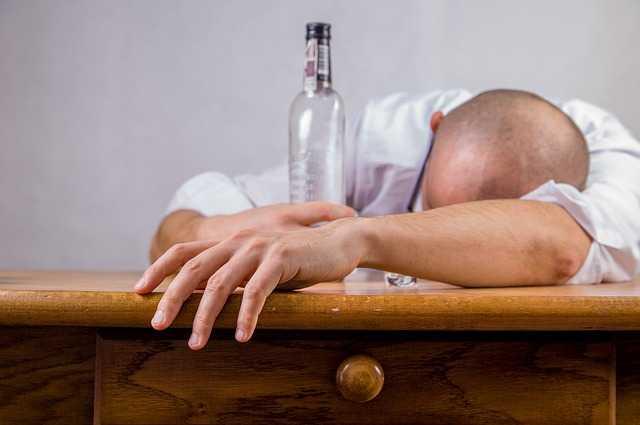 Alcoholic Person