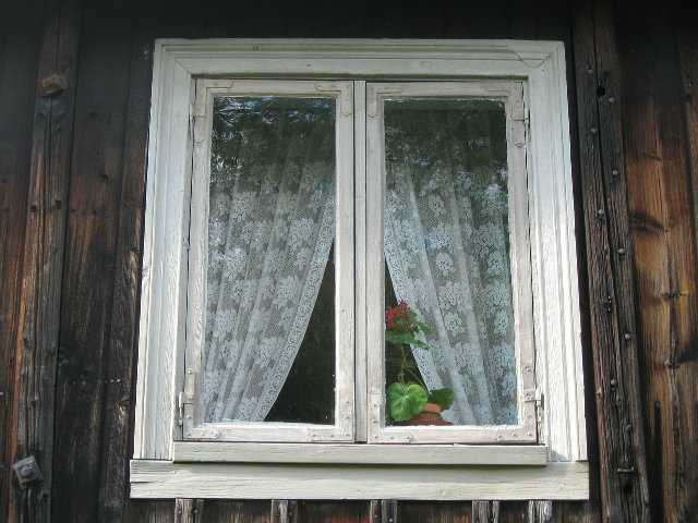 window and curtain