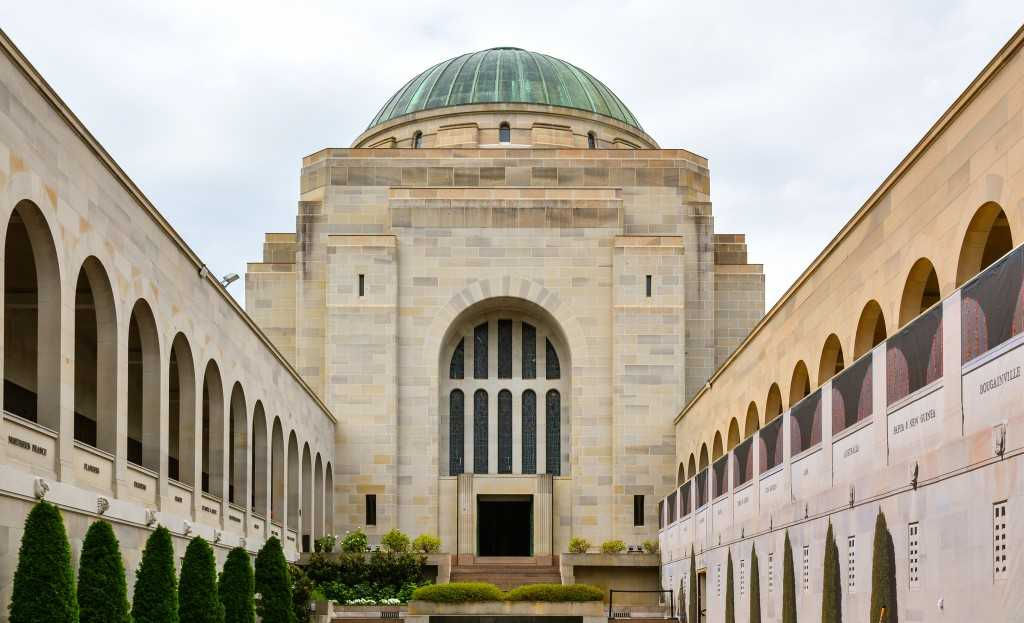 Australian War Memorial in Canberra