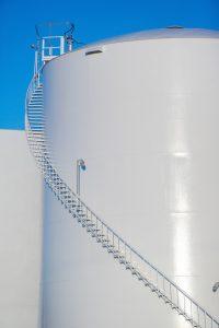 A large storage tank