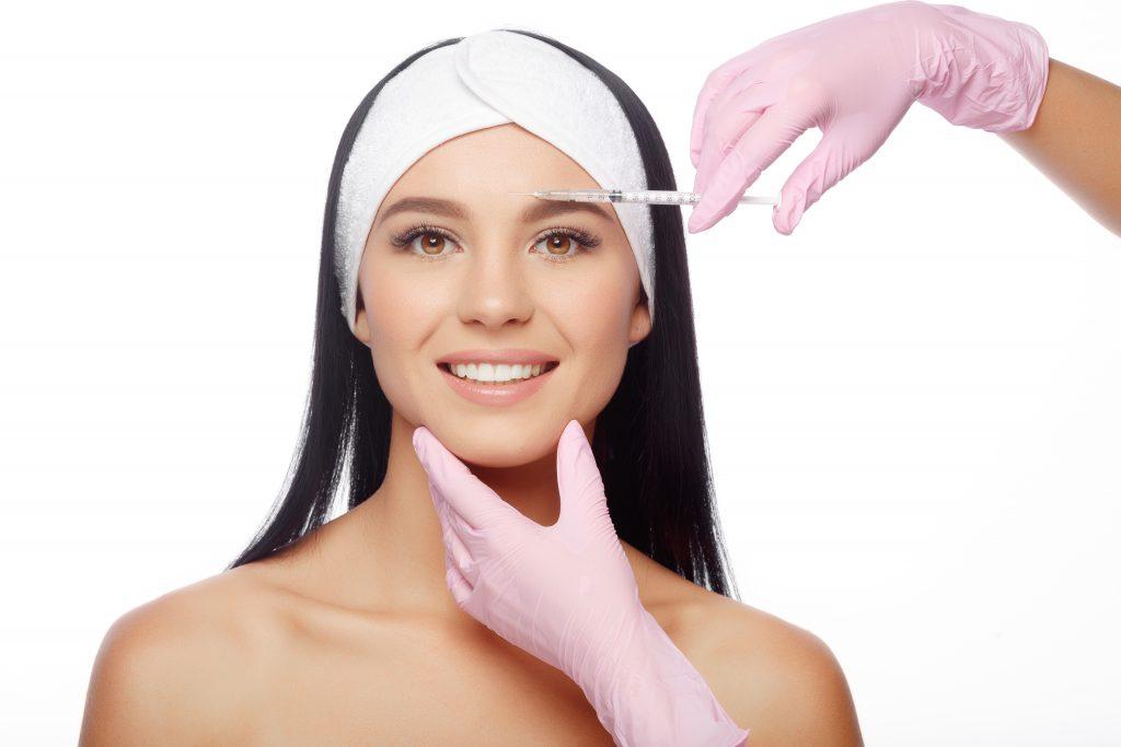 Girl Getting Botox