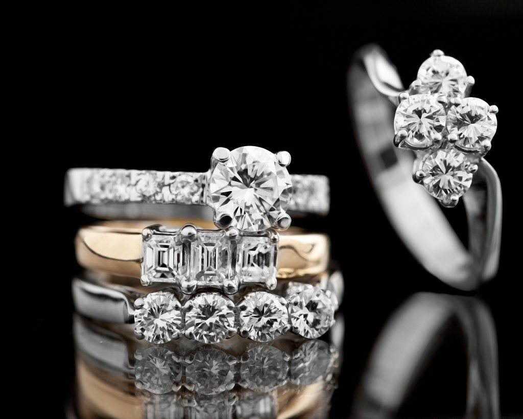 Variety of Engagement Rings