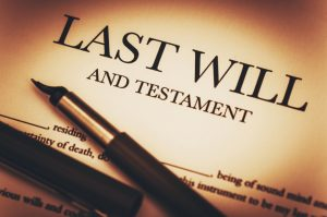 Last Will and Testament Document Ready to Sign
