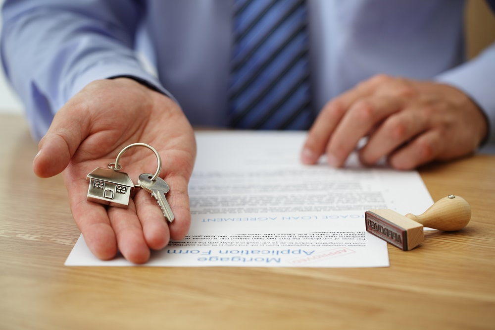 Key to home and contract