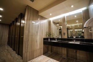 cozy restroom