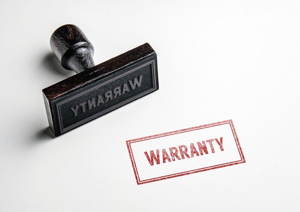 warranty stamp