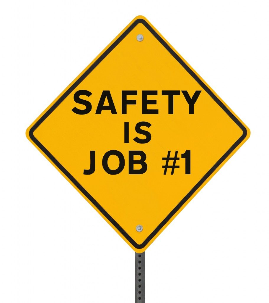 safety is job number one sign