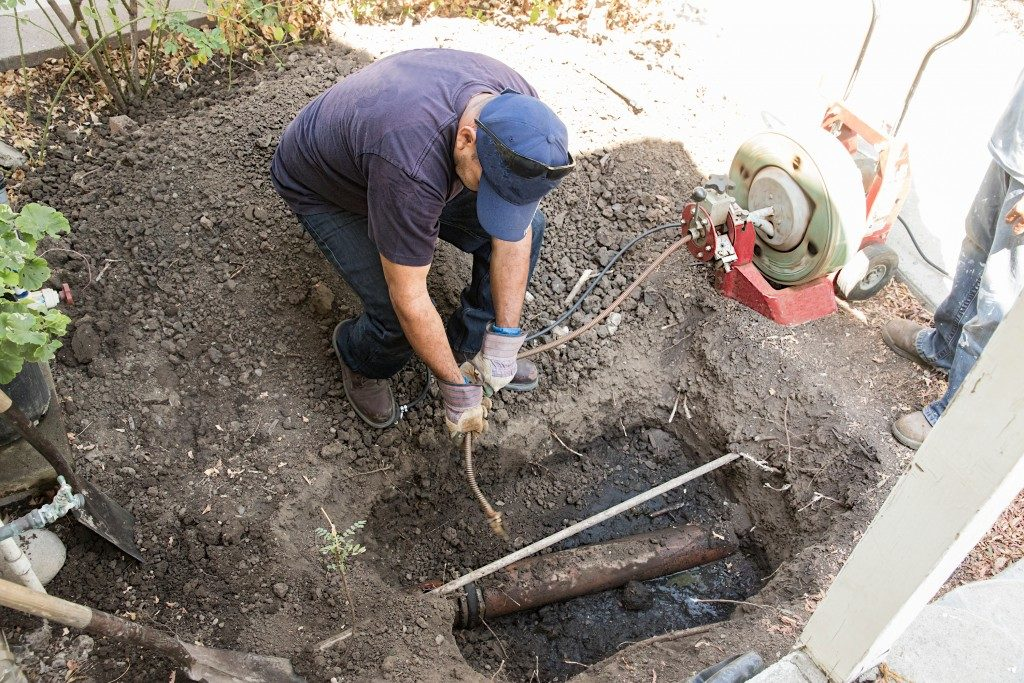 fixing sewage pump