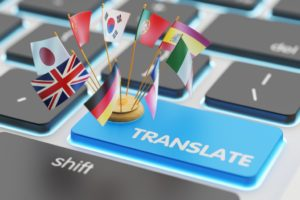Translate key with flags