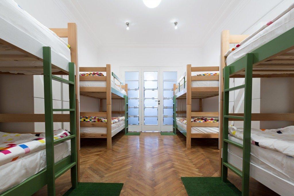 Small dorm interior