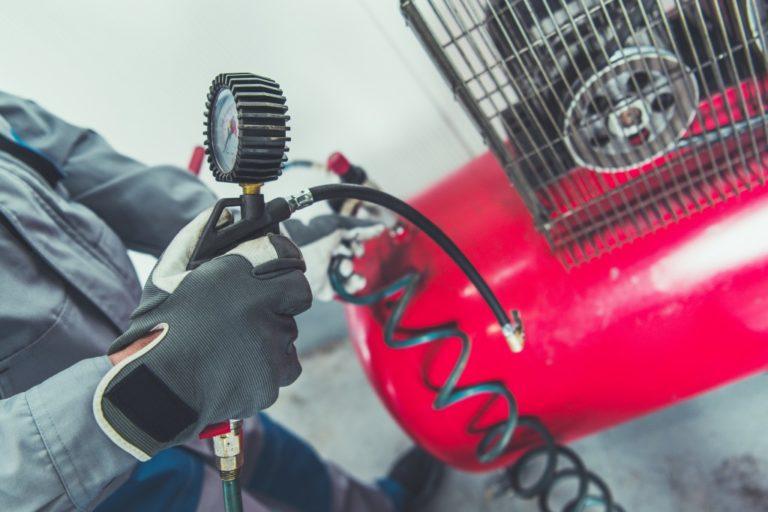 red air compressor