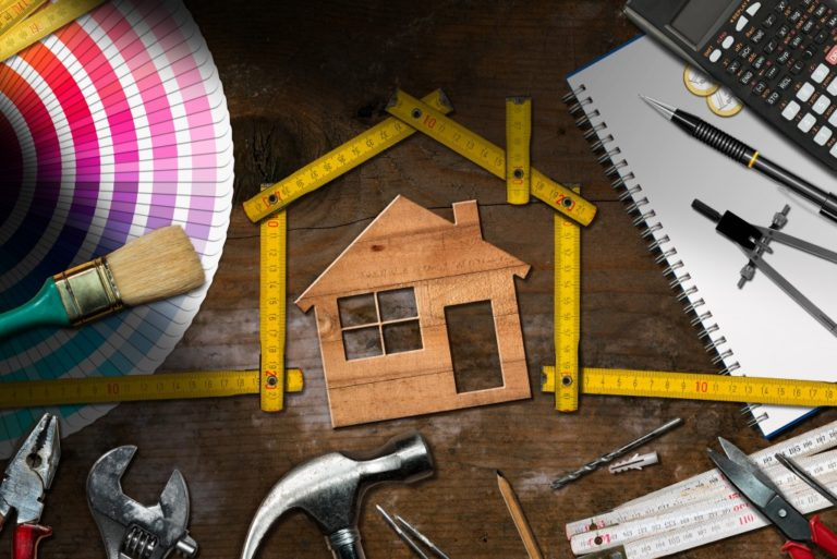 home improvement tools and materials