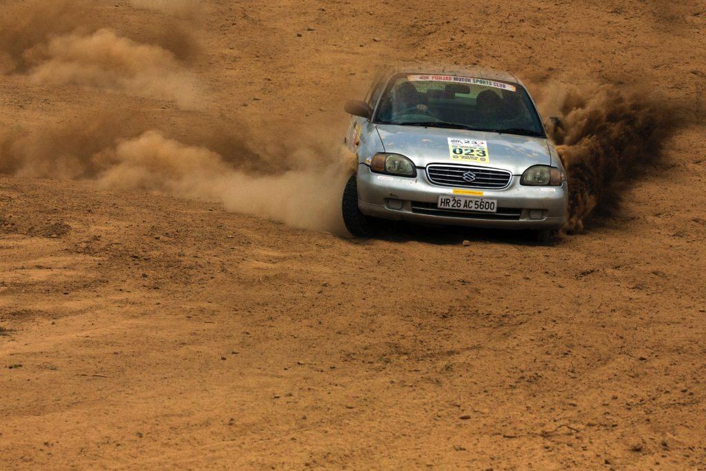 Off road racing car