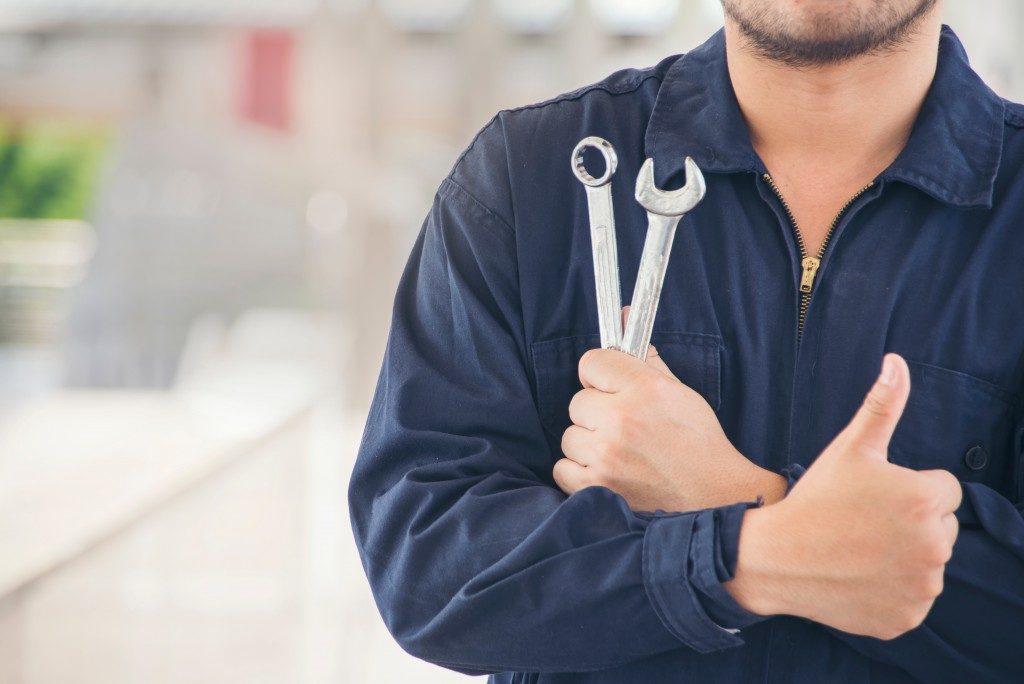 car maintenance worker