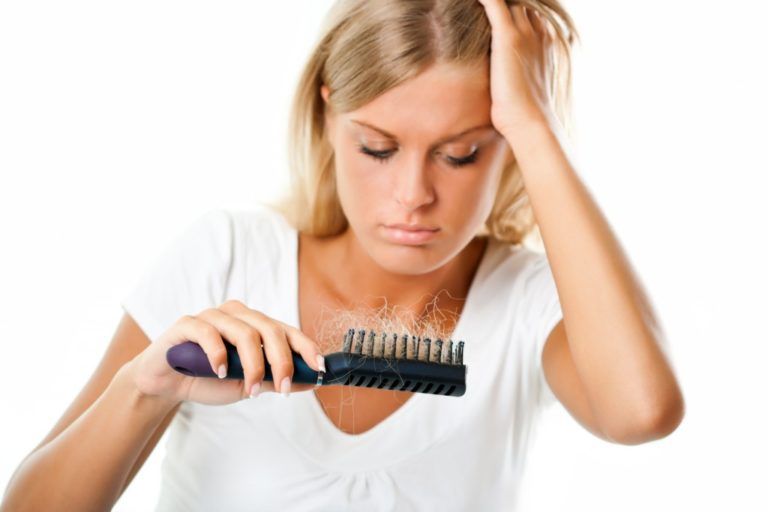 Dealing with hairfall