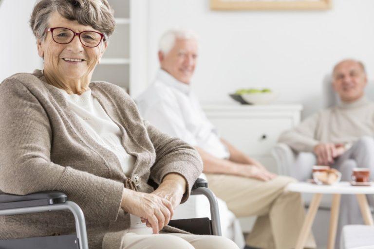 elderly in home care