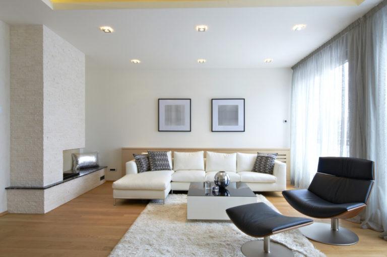 clean home interior