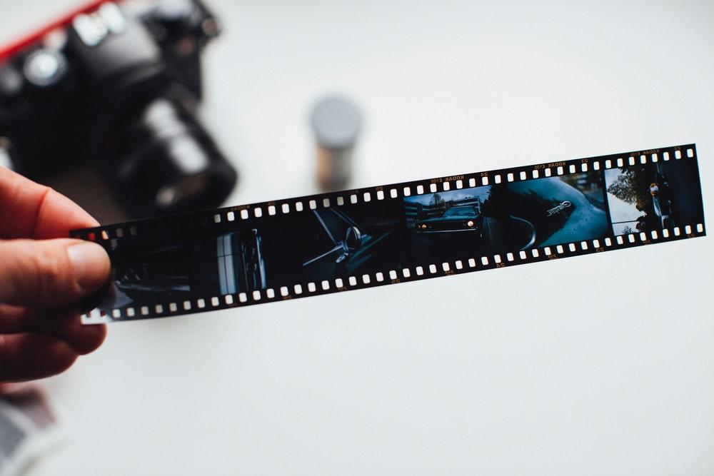 film from camera