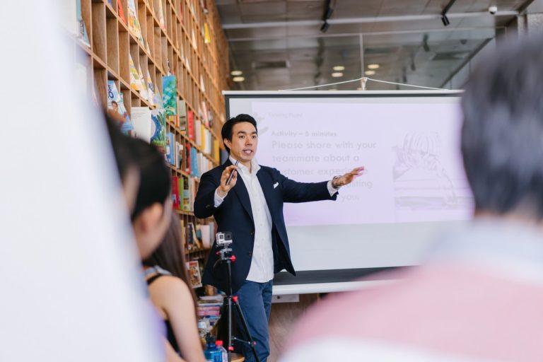 business coaching whiteboard