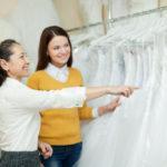 choosing dress for wedding