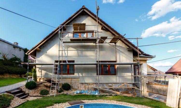 ongoing home renovation