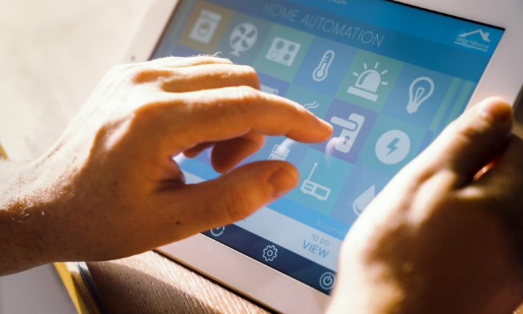 tablet for smart home usage
